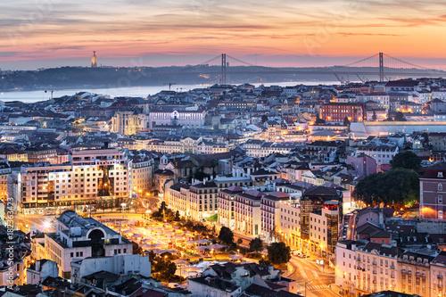 Panorama of Lisbon, Portugal