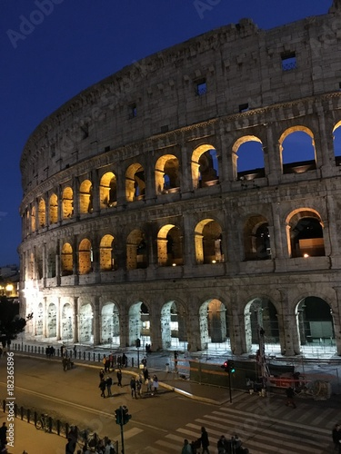 In de dag Rome Rzym