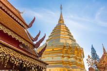 Wat Phra That Doi Suthep Or Often Called Doi Suthep Temple, Chiang Mai ,Thailand. Asia,on 25 Dec 2016