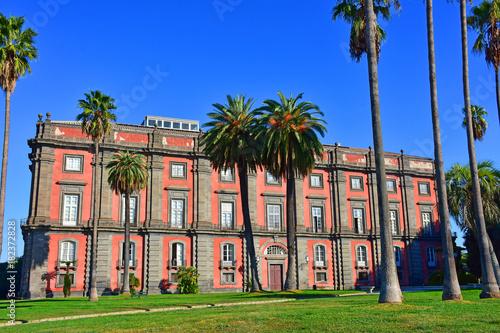 Fototapeta Napoli, Capodimonte, la Reggia e il parco.