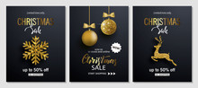 Christmas Sale Posters With Sh...