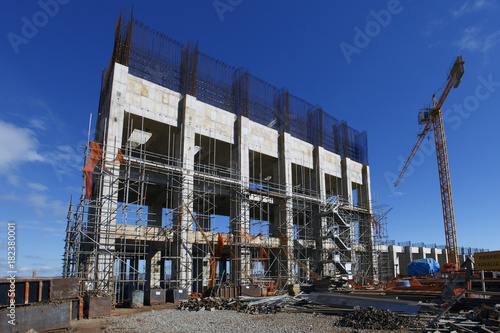 Industrial building construction © lcrribeiro33@gmail