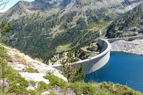 Photo barrage de Cap de Long