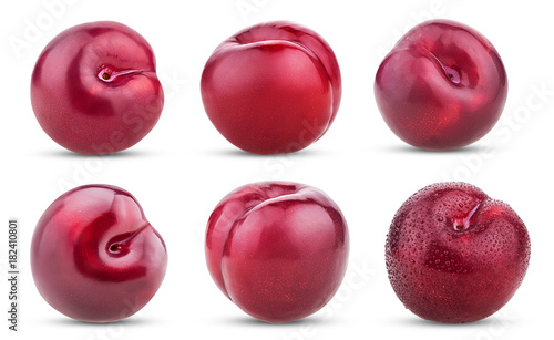 set whole Fresh plum