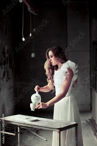 Tee Kaffee Trinken Guten Morgengood Morning Engel Buy