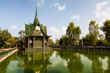 Wat Lan Kuad, Srisaket, North-East Of Thailand