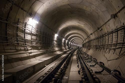 Papiers peints Tunnel Metropolitan tunnel under constraction