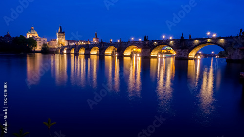 Obraz na dibondzie (fotoboard) Most Carls, Praha
