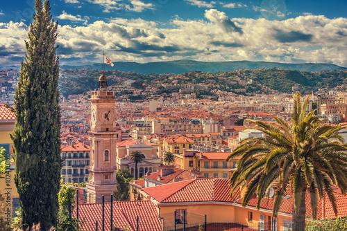 In de dag Nice Nice, la vieille ville