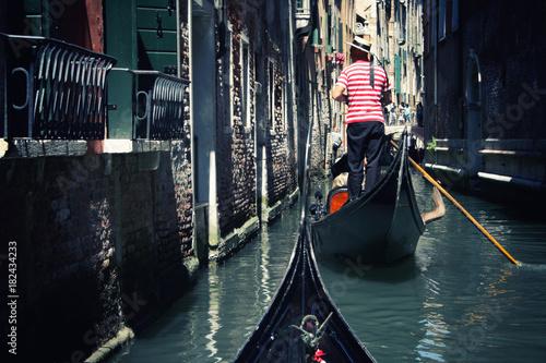 Fotografía Venice Gondolier
