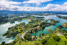 Guatape Panoramic View From Th...