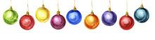 Christmas Balls, New Year Deco...