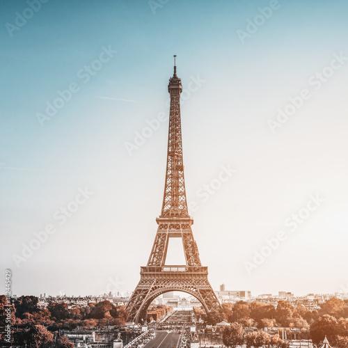 Deurstickers Eiffeltoren Tour Eiffel (Eiffel Tower) in Paris, France