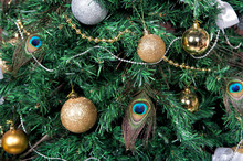 Christmas Tree With Baubles, P...