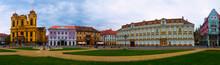 Panorama Of Unirii Square, Tim...