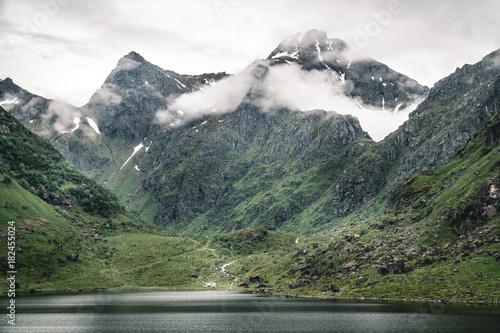 Tuinposter Noord Europa Lofoten