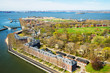 Governors Island in Upper New York Bay NYC