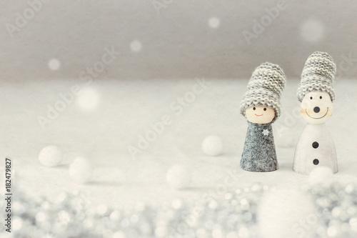 Fotografía  雪の日は二人の距離を縮める