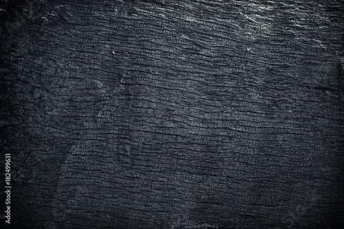 Valokuva  Burnt wood texture