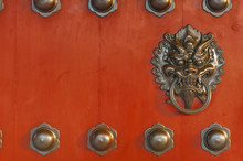 Chinese Decoration Of Bronze D...