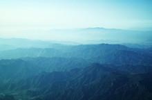 Panorama Of Mountain Range View