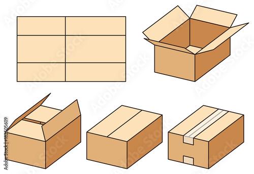 Tablou Canvas ダンボール箱の組み立て方
