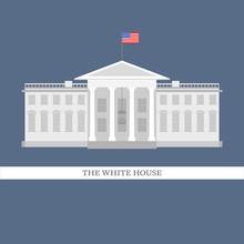 Vector Illustration Of White H...