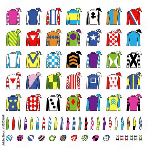 Canvas Print Jockey uniform
