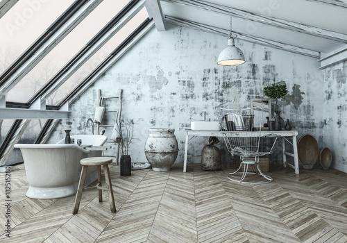 Modernes Badezimmer im skandinavischen Stil – kaufen Sie ...