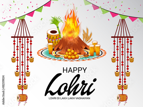 Photo  Happy Lohri.
