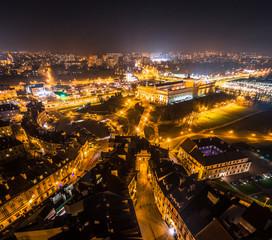 Obraz na SzkleLublin miasto nocnych inspiracji