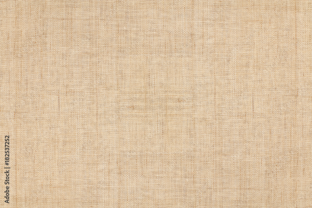 Fototapety, obrazy: brown colored hemp cloth texture background