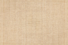 Brown Colored Hemp Cloth Texture Background