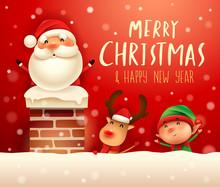 Merry Christmas! Santa Claus I...