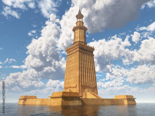 Leuchtturm von Alexandria Wallpaper Mural
