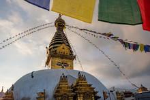 Nepal Kathmandu Monkeytempel B...