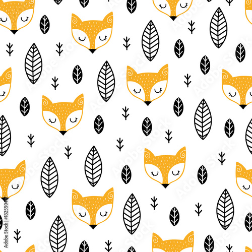Scandinavian kids pattern