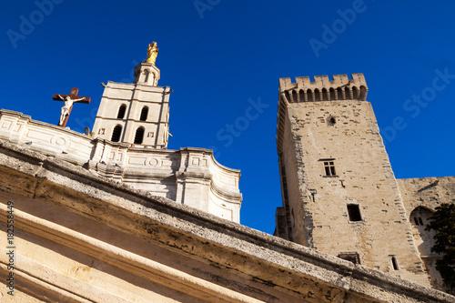 Foto op Plexiglas Monument palais des papes d'Avignon