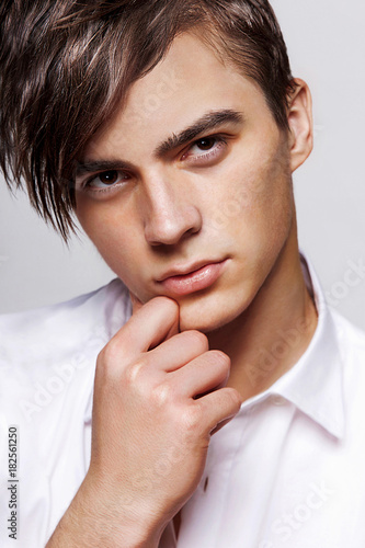 Fotografia, Obraz  young man model appearance portrait