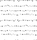 Ręcznie rysowane wektor streszczenie świątecznych dekoracji teksturowanej bezszwowe wzór z odręcznym pędzlem malowane tekstury kropki na białym tle - 182566691