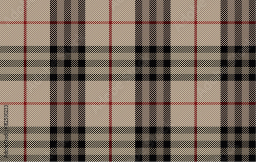 Photo  Scottish woolen fabric