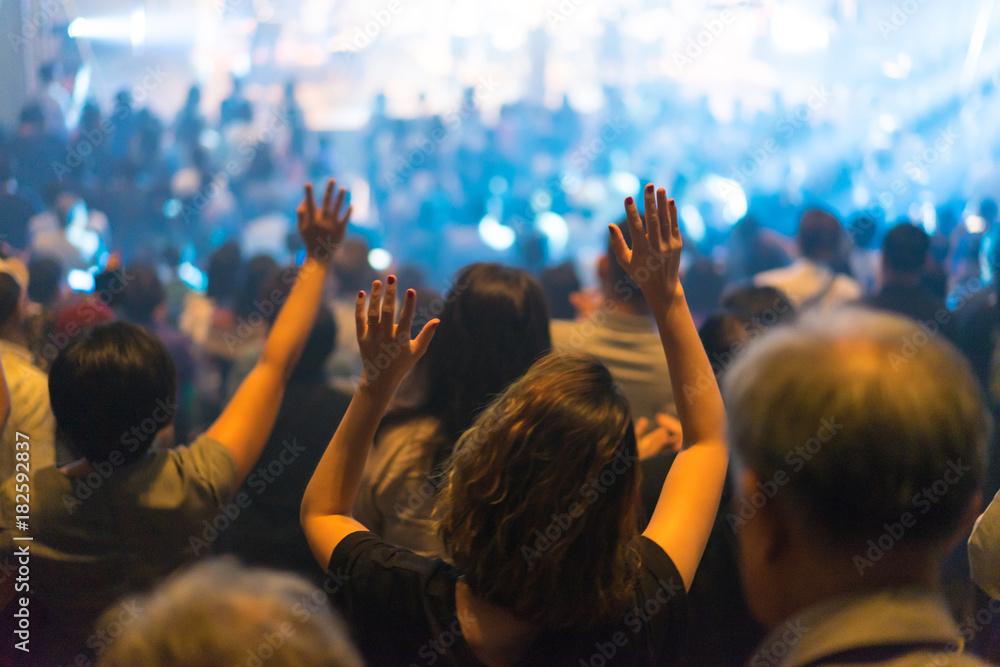 Fototapety, obrazy: Worship night