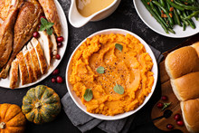 Mashed Sweet Potatoes On Thank...