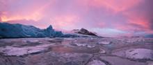 Beautiful Iceberg Lagoon In Fj...
