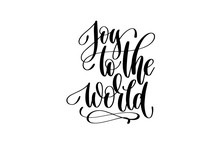 Joy To The World - Hand Letter...