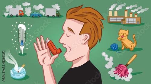 фотографія Asthma Triggers