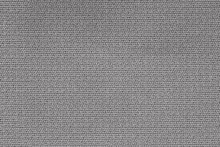 Close Up Background Pattern Of Gray Textile Texture, Abstract Color Textile Net Pattern Texture.