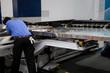 Mechanic fix CNC machine