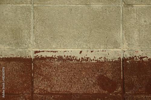 Fotografering  古いブロック塀