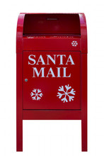 Santa Red Mail Box Isolated On...